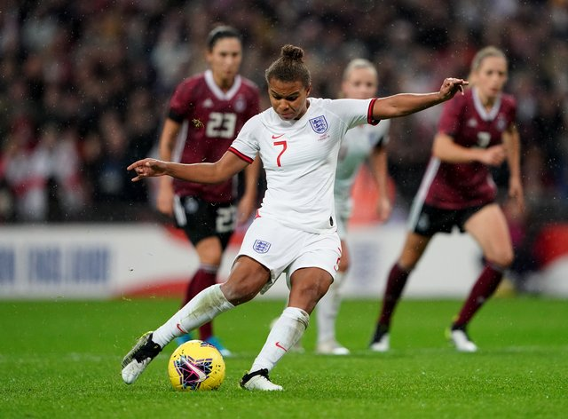 Nikita Parris in action for the Lionesses at the 2019 Women's World Cup in France (PA Images)