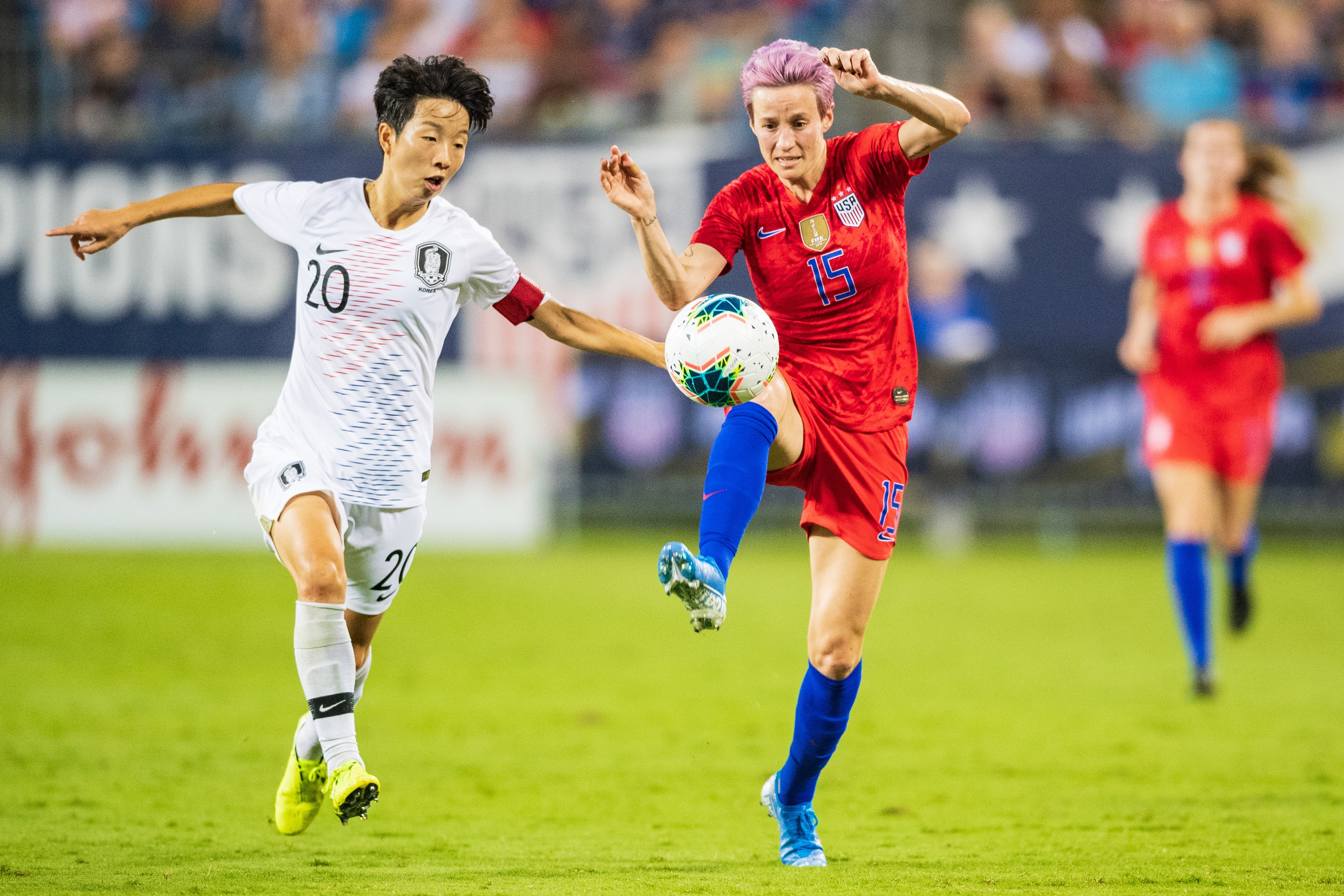 Megan Rapinoe calls Donald Trump 'completely crazy' and calls for new president in 2020