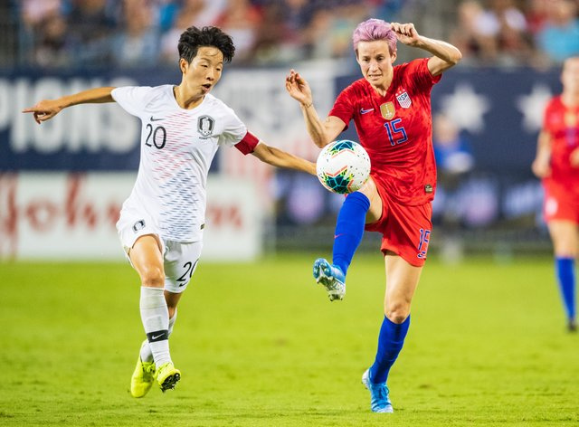 Usa Soccer Team World Cup 2020.Megan Rapinoe Calls Donald Trump Completely Crazy And