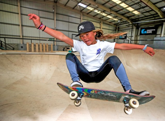 Sky Brown could become Britain's youngest Olympian at Tokyo (PA Images)