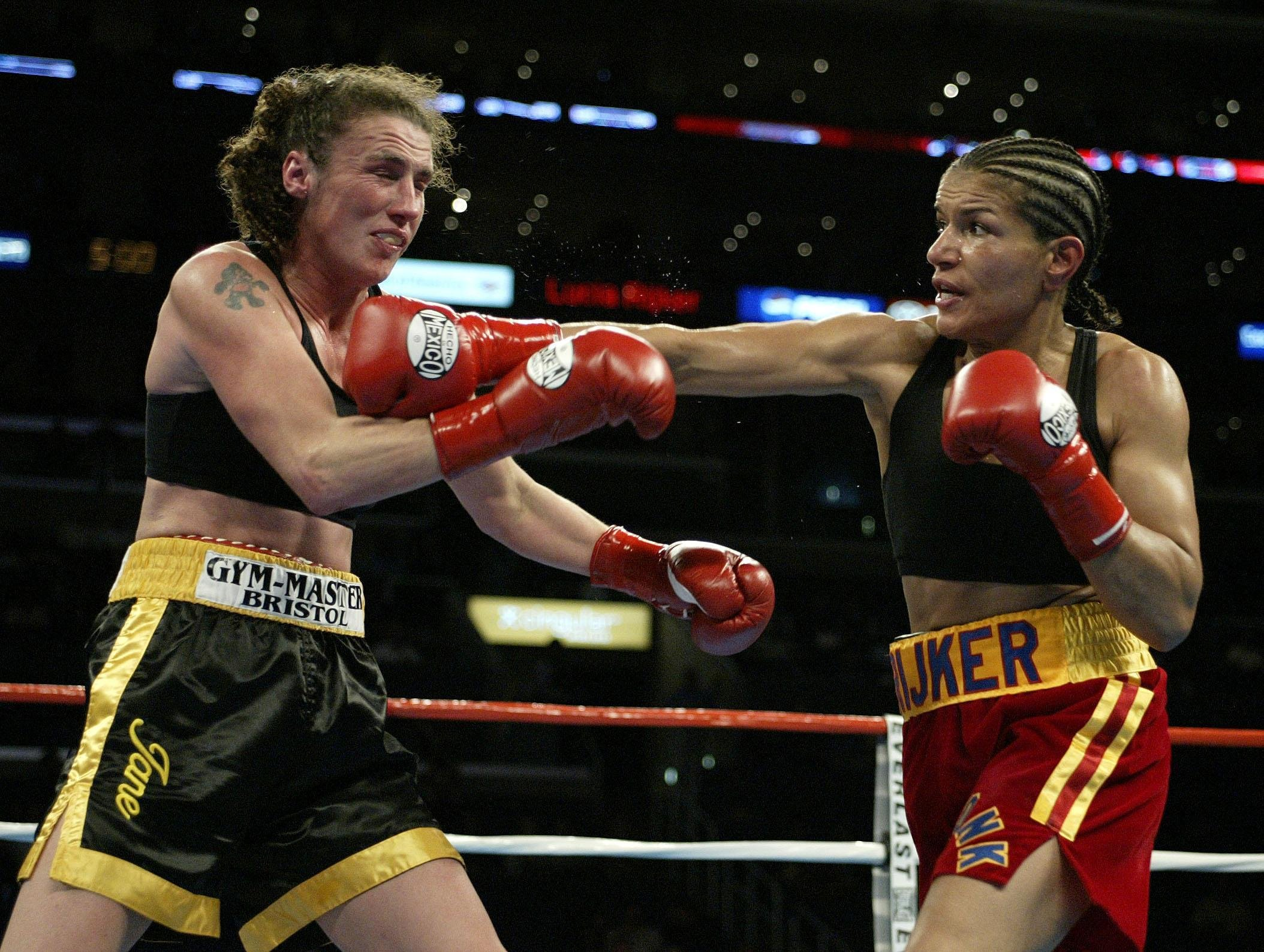 'Most Dangerous Woman in the World' Lucia Rijker leads the way as first women boxers are inducted into Hall of Fame