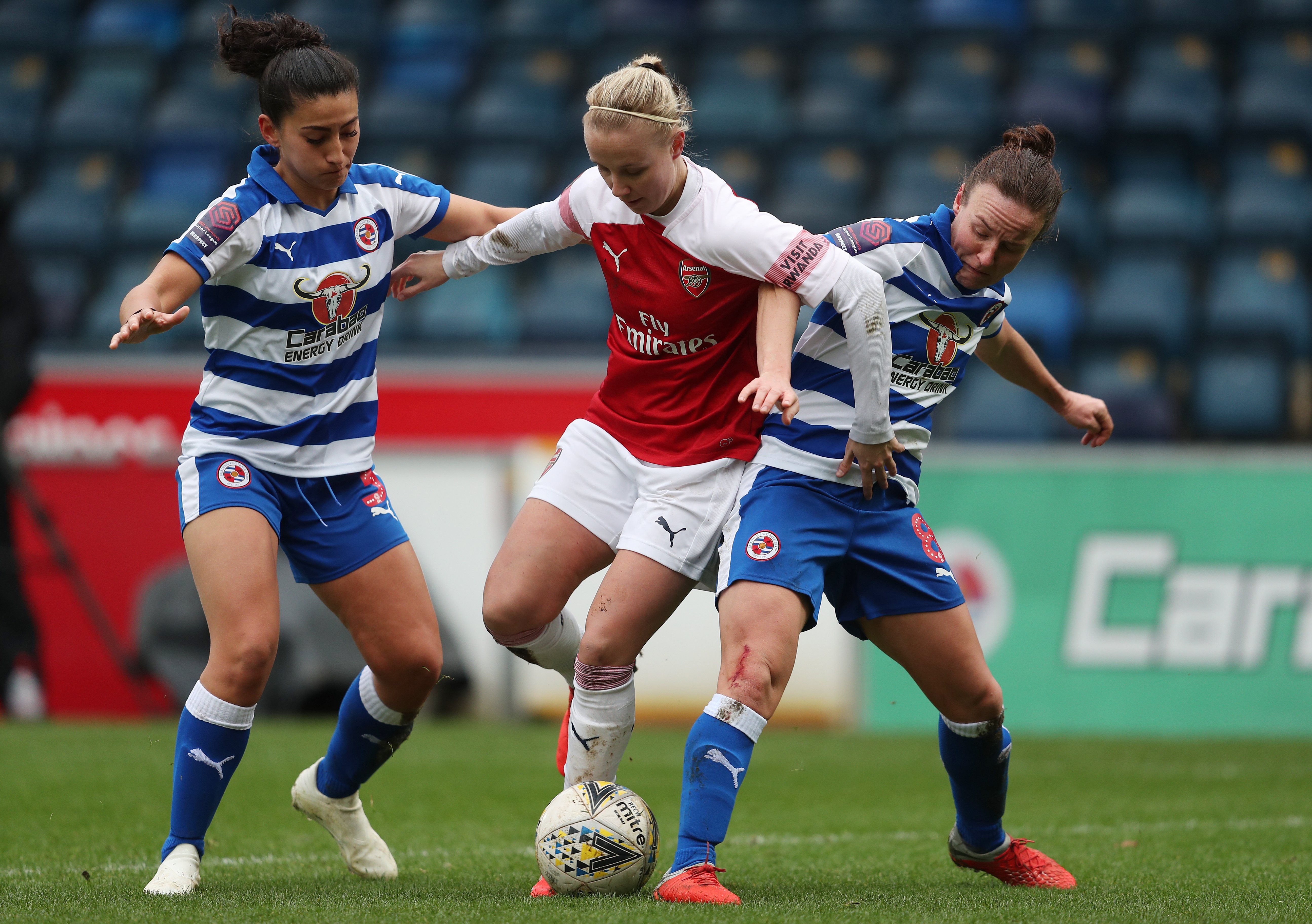 Pace setters Arsenal look to maintain position at top of Women's Super League as they travel to Reading