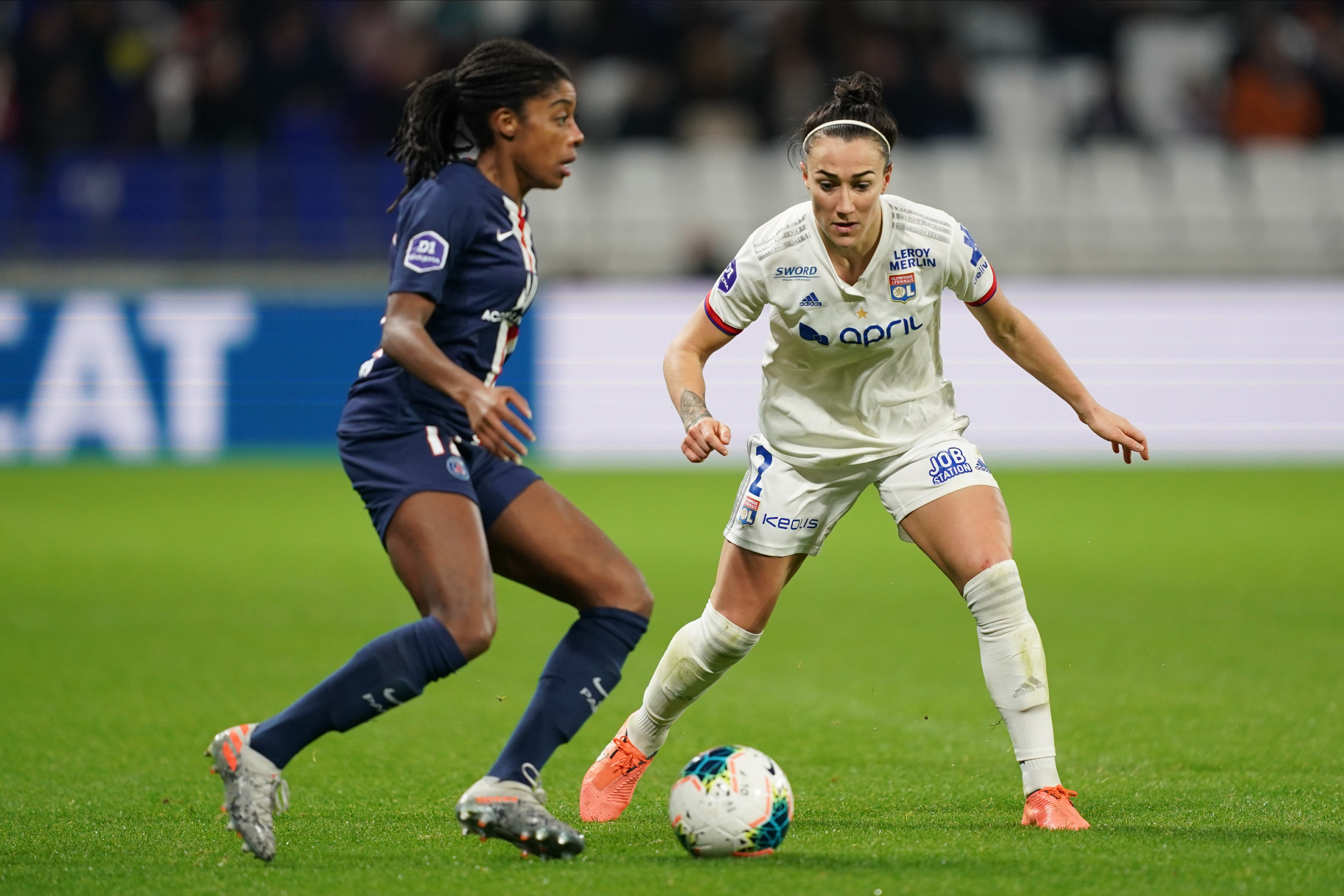 Lyon's Lucy Bronze says English clubs could learn from the way things are run at French league leaders