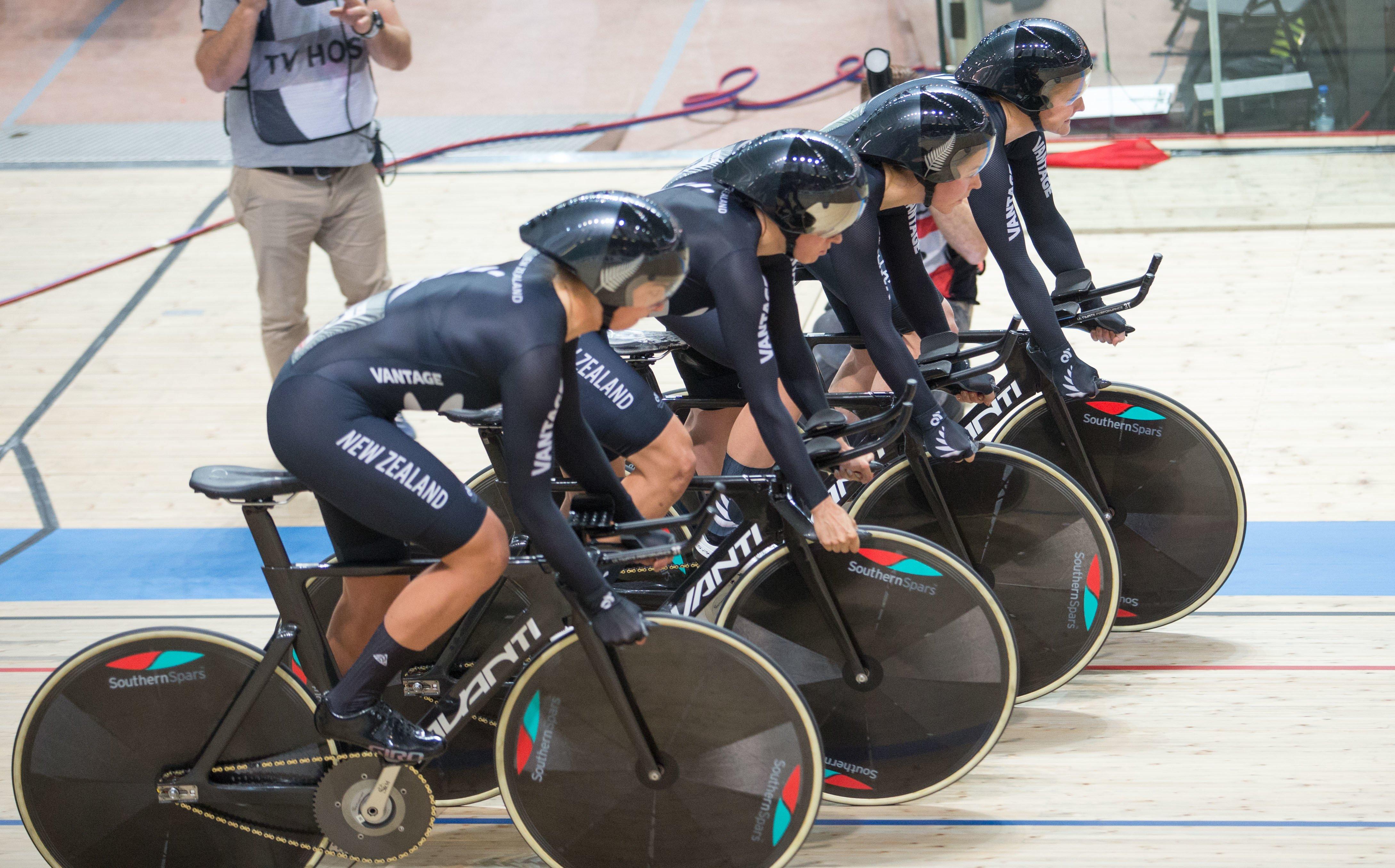 New Zealand's women's pursuit team destroy world champions Australia at Track World Cup