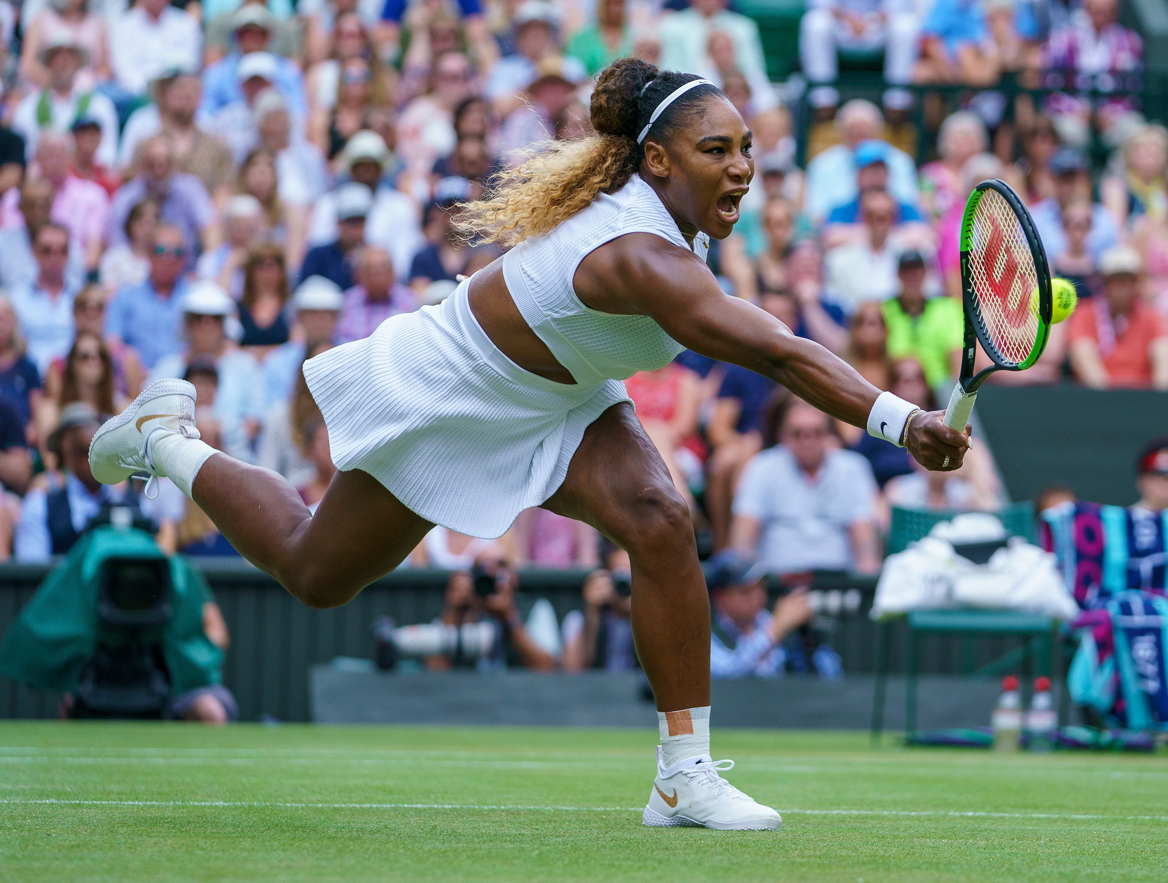 Tennis ace Serena Williams is worried she has waited too long to have another baby