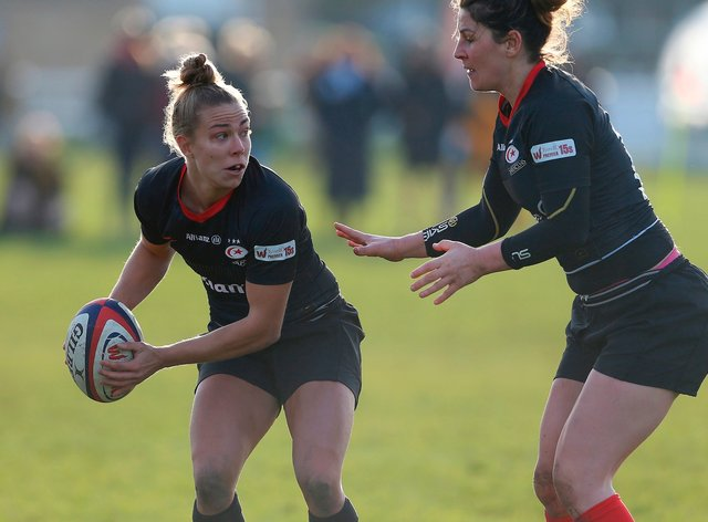 Saracens dominated DMP Sharks to maintain their perfect season (Twitter: Saracens Women)