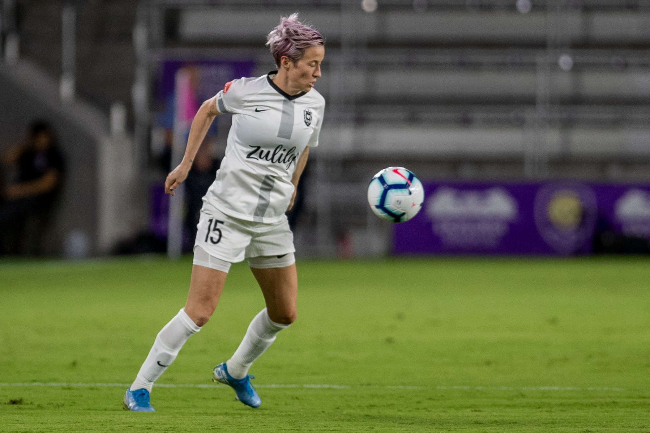 Football pundit Alex Scott praises 'courageous' Megan Rapinoe saying 'she is what we need in the women's game'