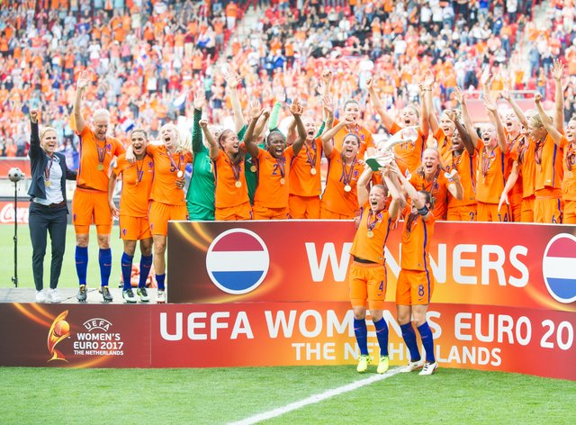 The Netherlands are the reigning European champions (PA Images)