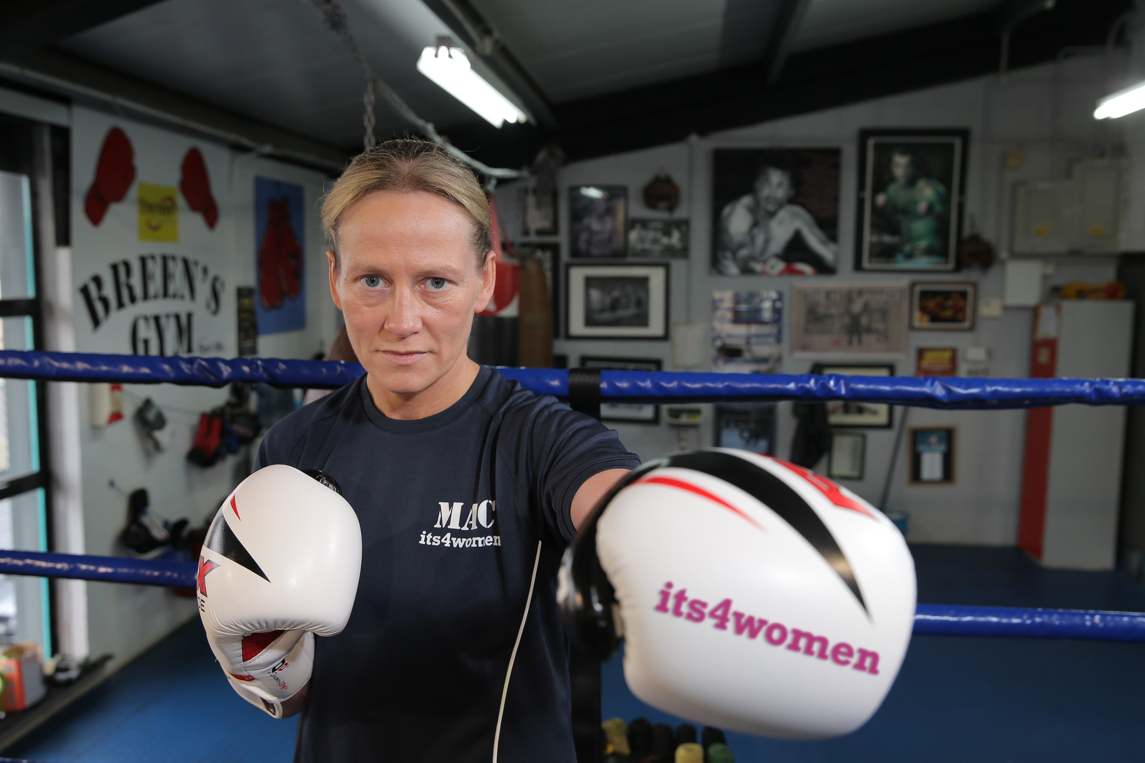 Northern Ireland's only professional boxer Cathy McAleer on Kellie Maloney link-up, her fight for women in sport and how, at 41, she's as fit and hungry as ever