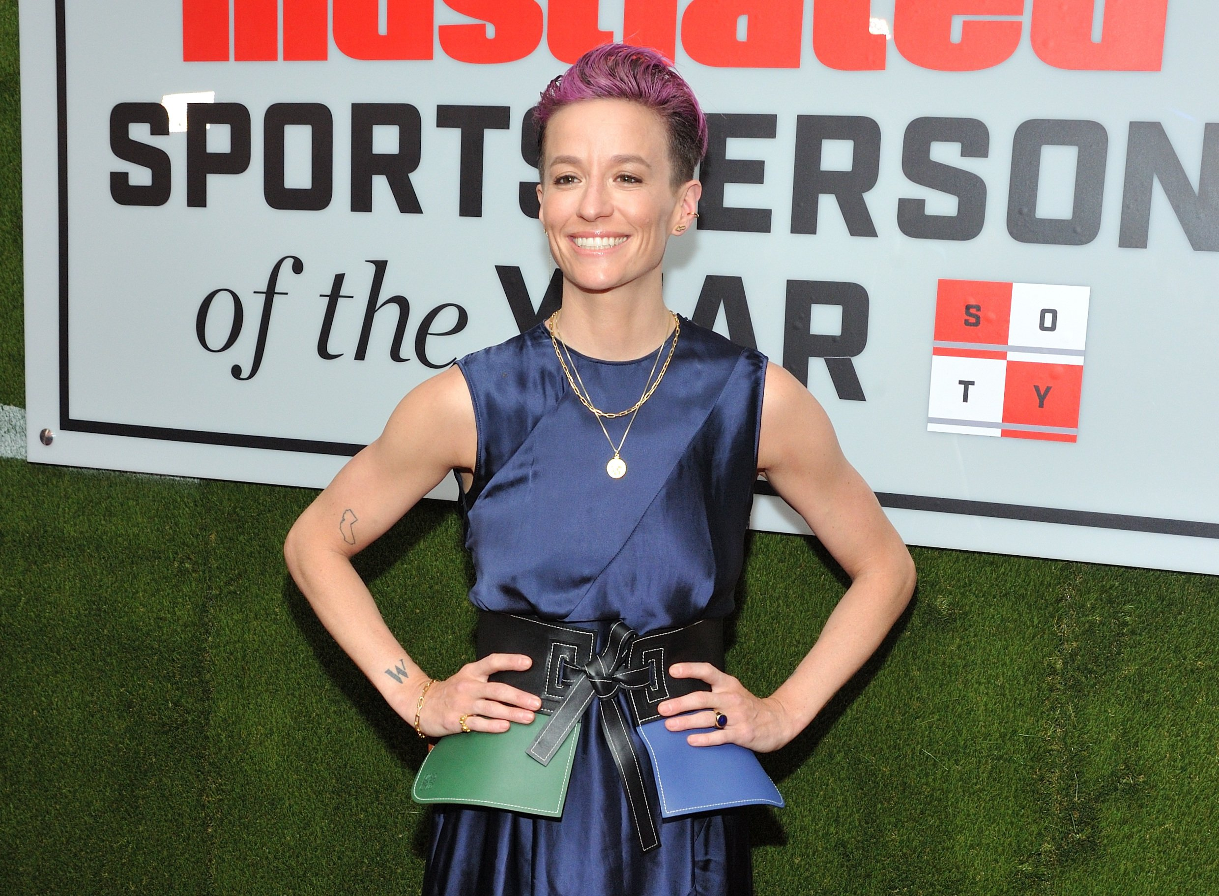 Megan Rapinoe criticises Sports Illustrated for lack of diversity in astonishing acceptance speech for their Sportsperson of the Year award