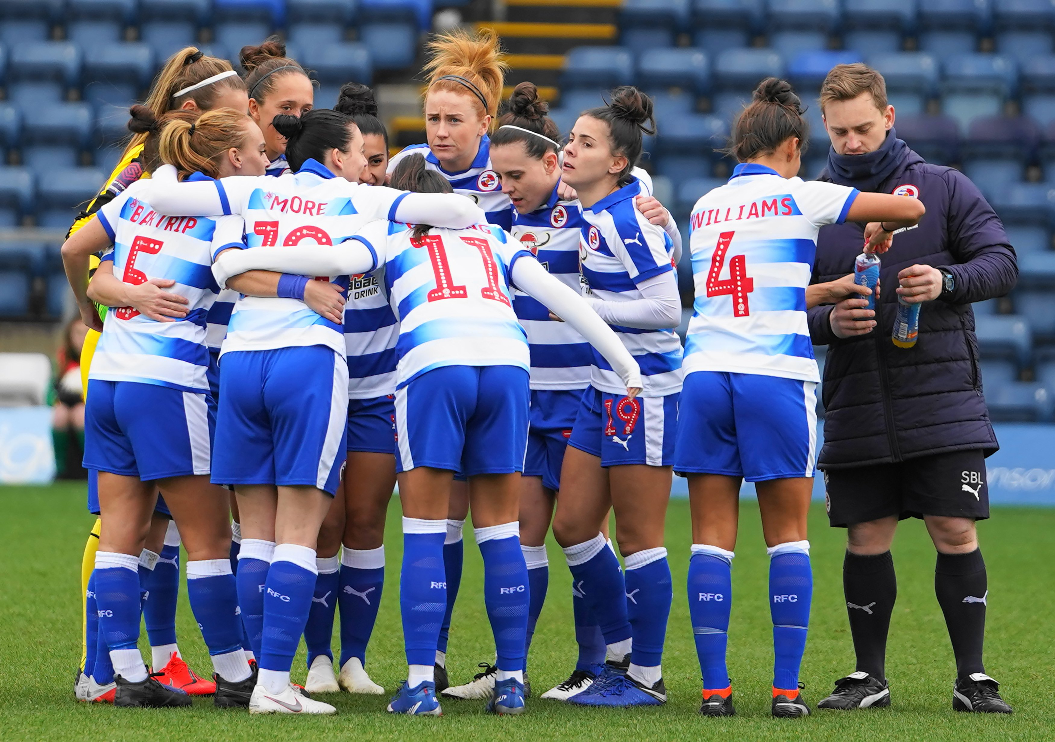Reading, Manchester United and Arsenal all through to Women's League Cup quarter-finals