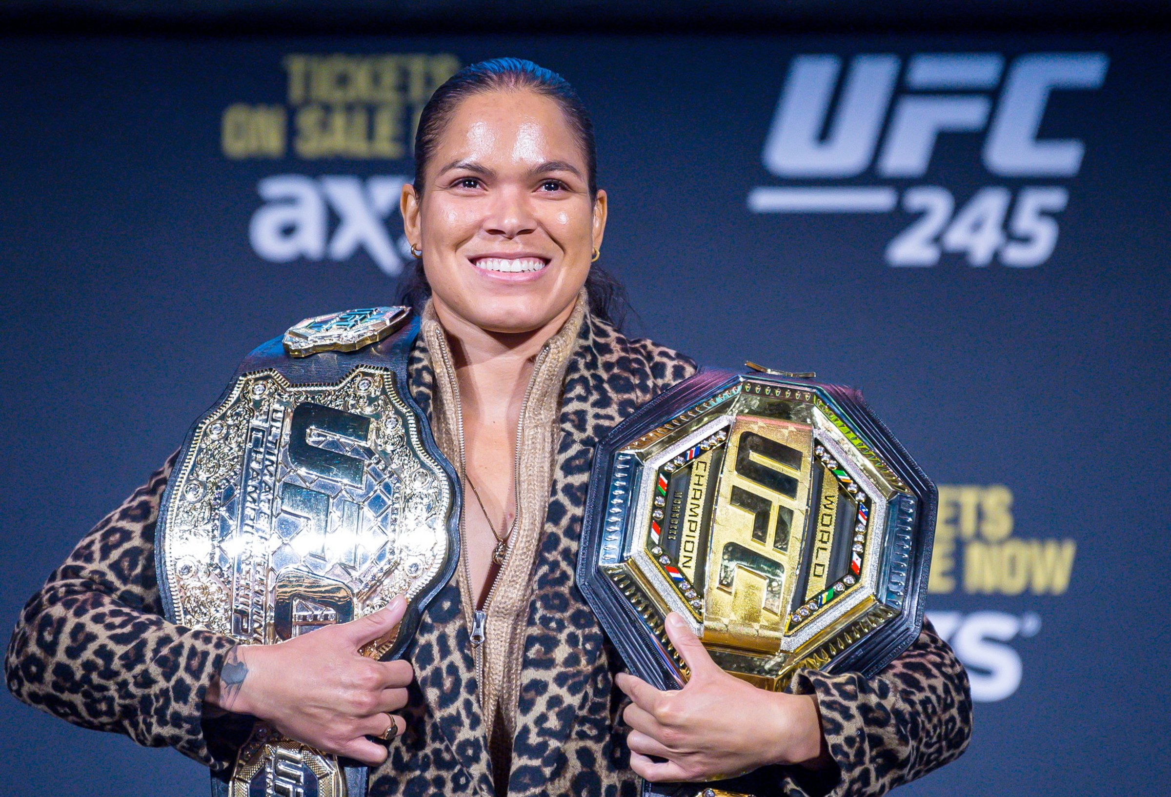 Amanda Nunes urges Claressa Shields to 'come into her world' for super fight ahead of UFC 245