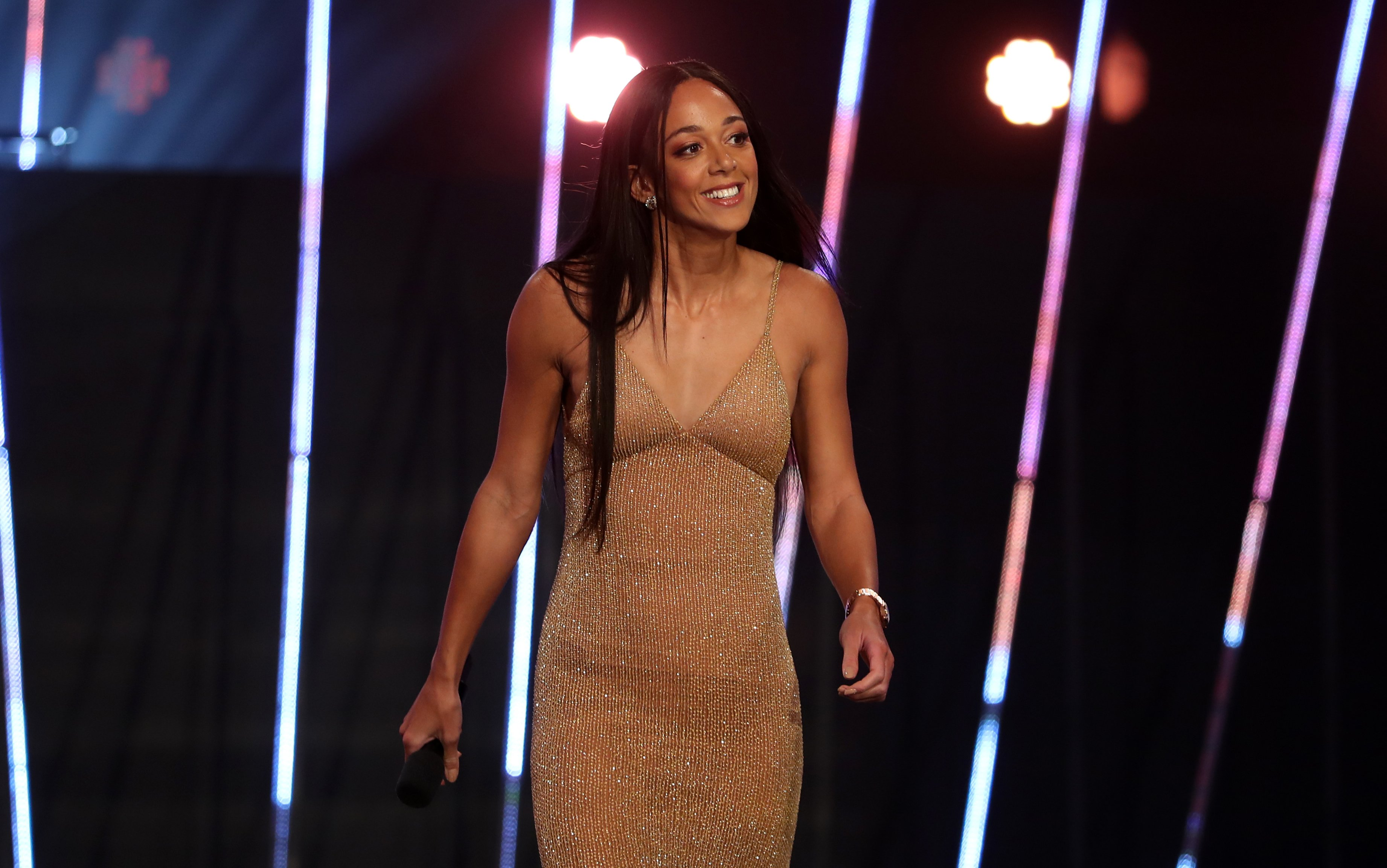Sport's biggest female stars wow on the red carpet as they turn on the glam to see Ben Stokes crowned Sports Personality of the Year 2019
