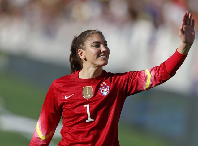 <p>Solo has filed a separate law suit to the USWNT to achieve equal pay</p>