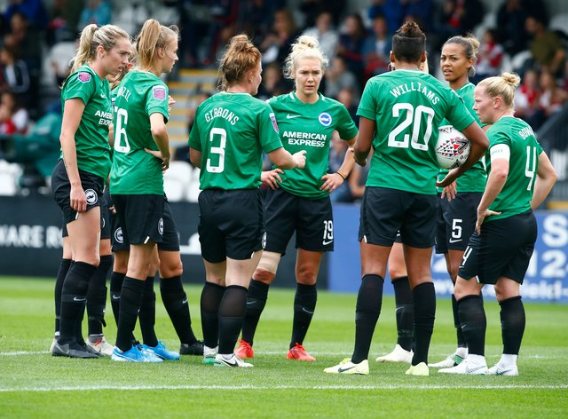 Brighton have struggled in the WSL so far this season (PA Images)