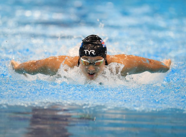 <p>Tai wants to compete in skiing</p>