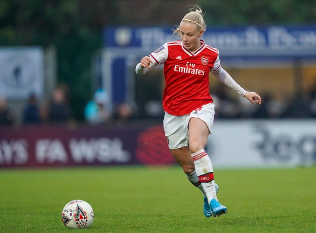 Beth Mead was injured in a game against Liverpool (PA Images)