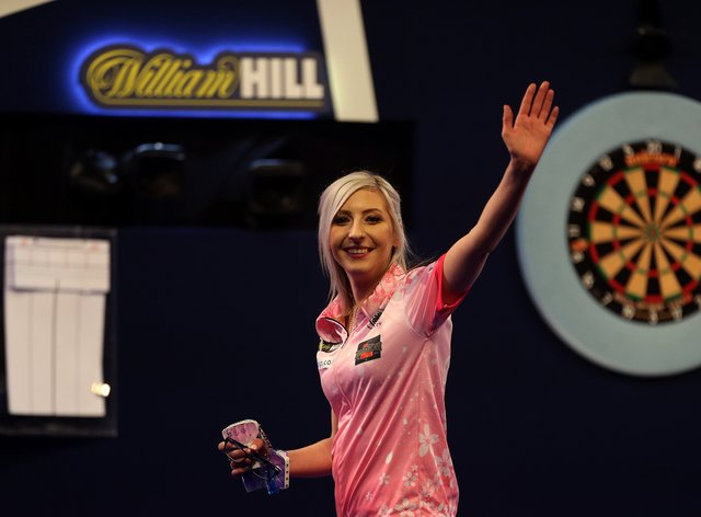 Sherrock captivated darts fans at the PDC world championships last month (PA Images)