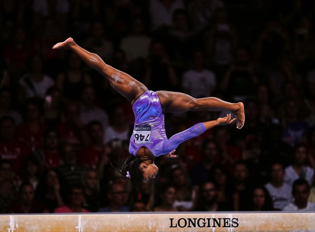 Simone Biles has a record amount of World Championship medals (PA Images)