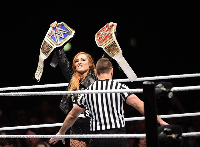 Becky Lynch is the flagship women's fighter in the WWE (PA Images)
