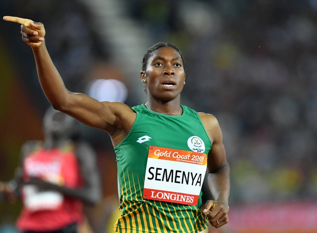 Caster Semenya is not giving up on her dreams after a rocky-road with athletics' governing body (PA Images)