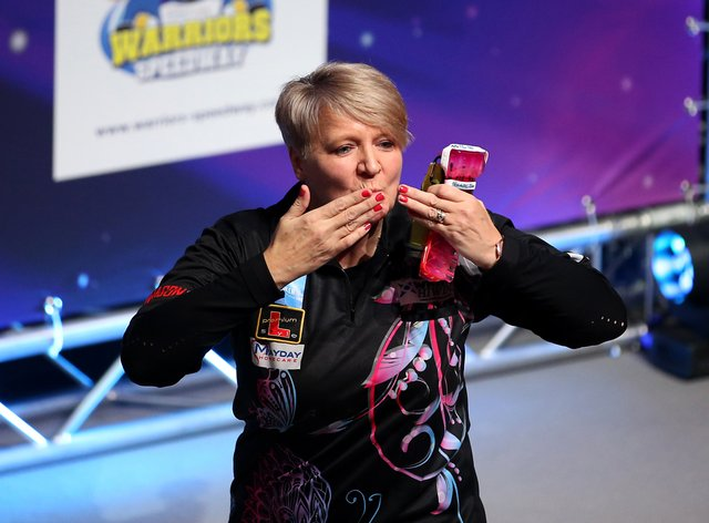 Ashton is ranked the BDO number one women's player in the world (PA Images)