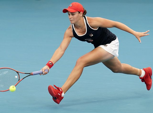 Ashleigh Barty has made a shock exit at Brisbane (PA Images)