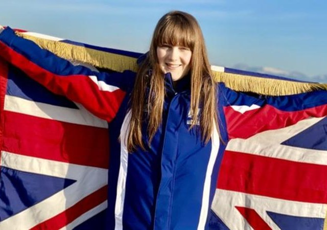 """Robyn Mitchell says carrying the flag is a """"huge honour"""" (twitter: @SchoolLettings)"""