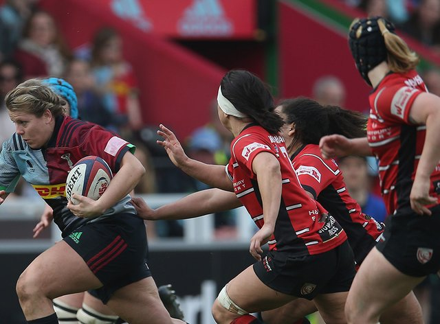 Harlequins bounced back from their Saracens loss a few weeks ago (Twitter: Harlequins Women)
