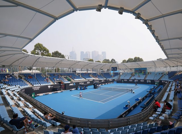 Australian Open Qualifying Delayed Due To Very Poor And
