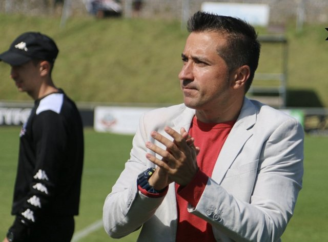Alonso said 'you can't say no' to Celtic after leaving Lewes FC to join Scottish club (Twitter: Fran Alonso)