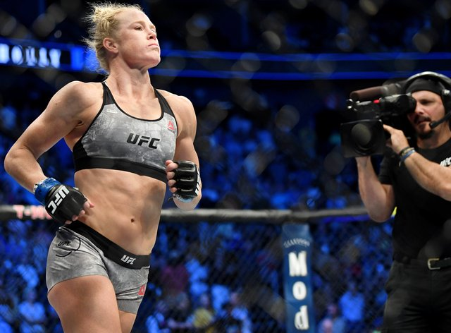 Holm will return to the cage for the first time since July last year (PA Images)