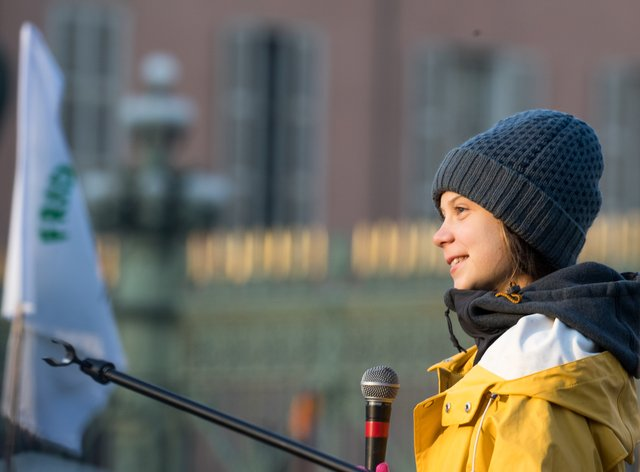 Greta Thunberg will arrive in Lausanne on Friday (PA Images)