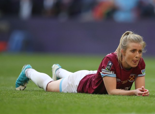 Longhurst has signed a new contract to keep her at West Ham until 2022 (PA Images)