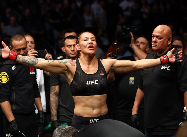 <p>Cyborg could cross over to boxing to take on Taylor in a super-fight</p>