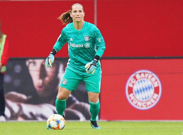 Laura Benkarth will help Bayern chase down the title (PA Images)