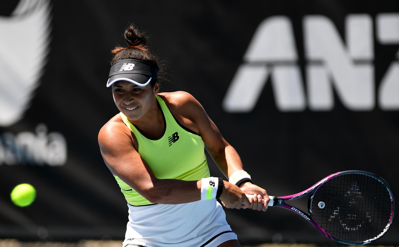 Britain's Heather Watson loses to Elena Rybakina in three-set thriller in Hobart International semi-final