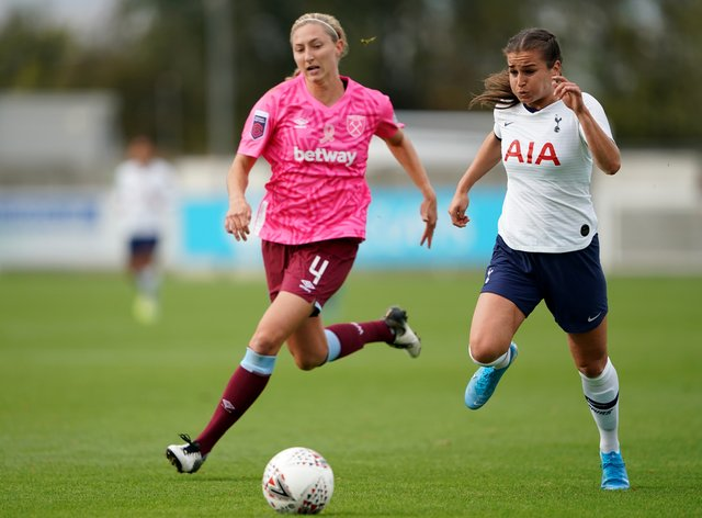 Wynne has had two separate spells at Tottenham, who she supported growing up (PA Images)