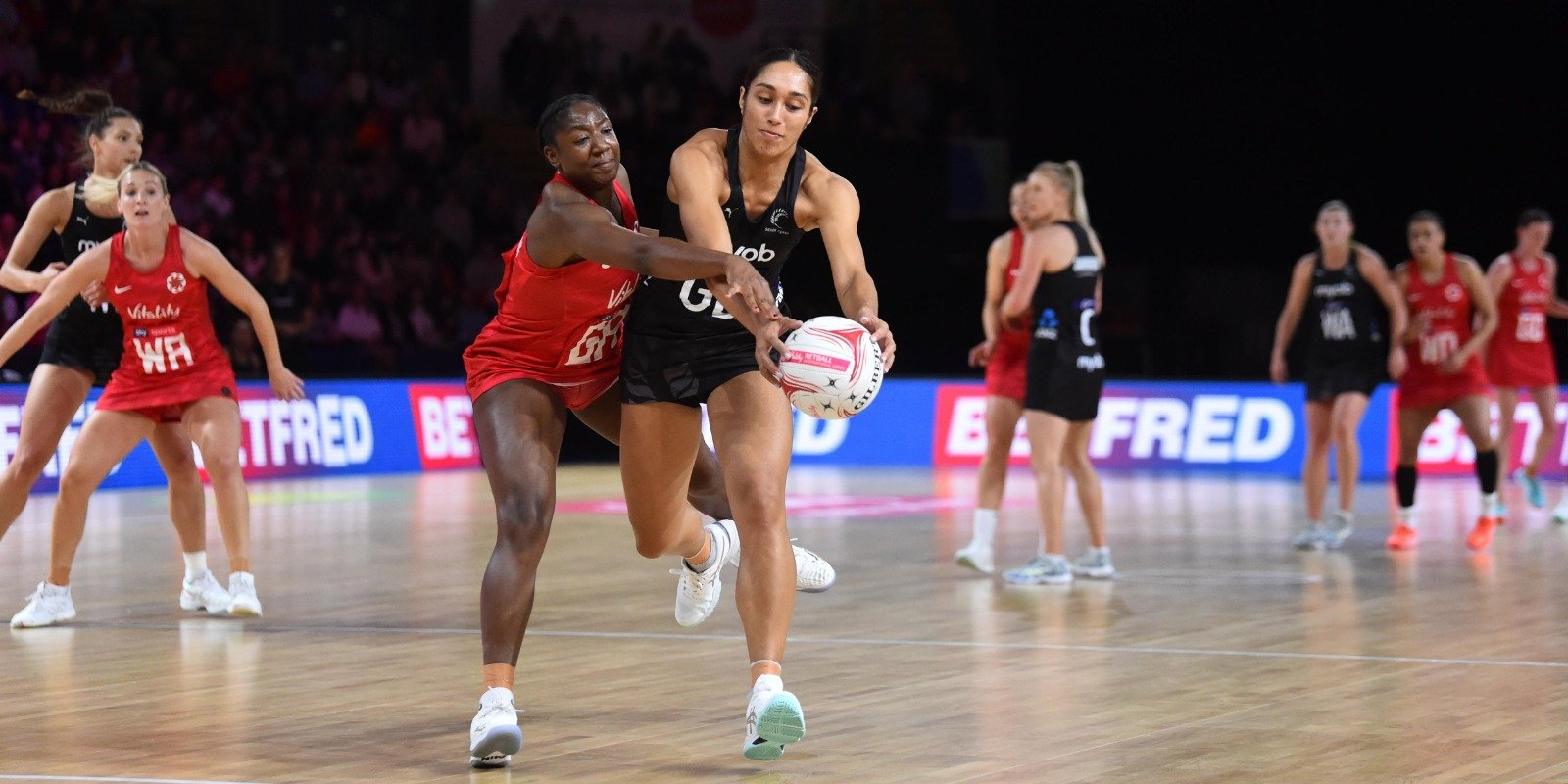 England Roses wilt in opening match defeat to New Zealand in the Vitality Netball Nations Cup