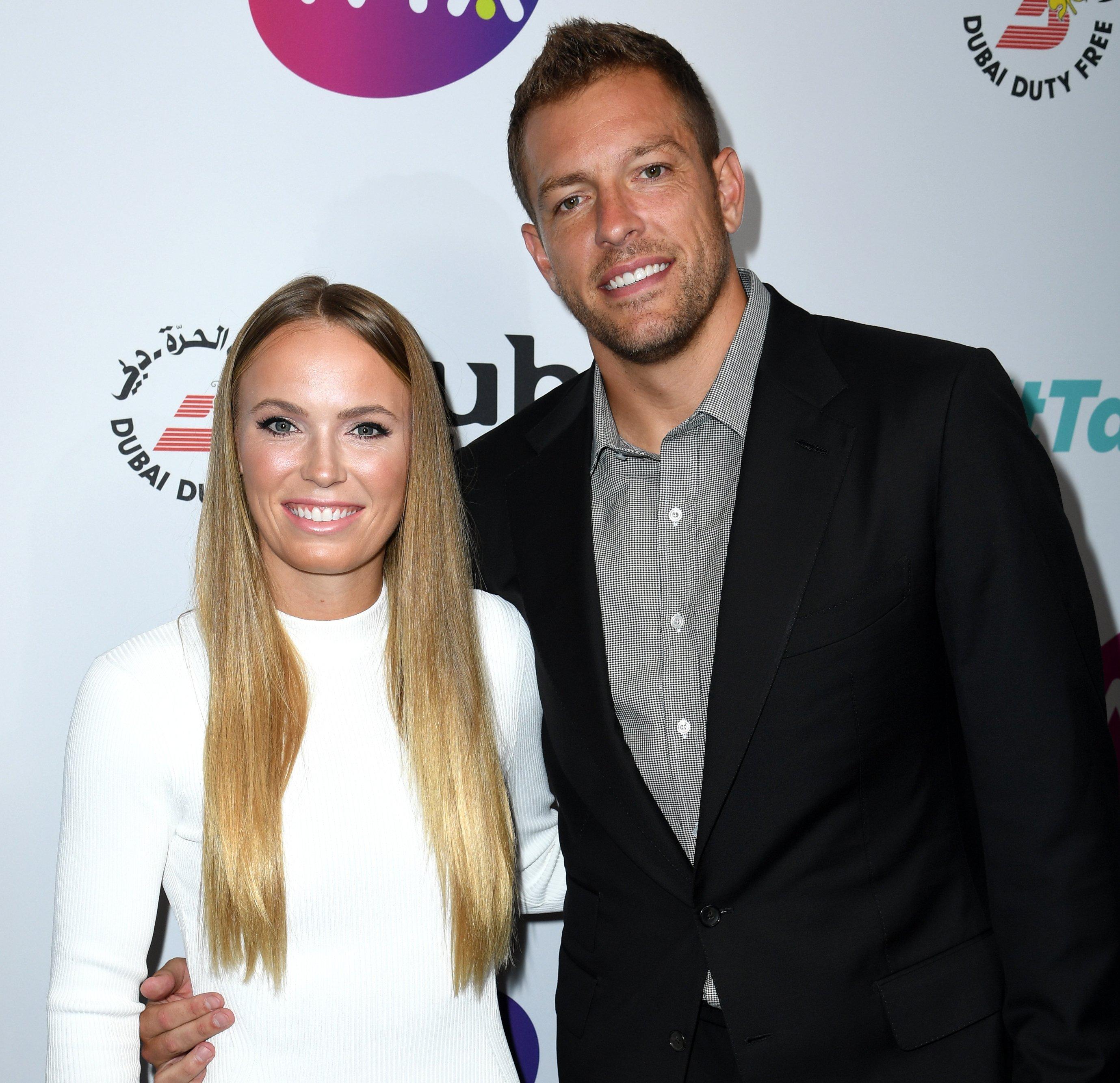 Caroline Wozniacki's husband and former NBA star David Lee reveals a sweet secret about the tennis ace