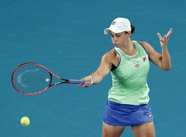 Ashleigh Barty demonstrated why she is world No 1 (PA Images)
