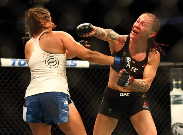 Cyborg was fearless throughout her three year career in the UFC (PA Images)