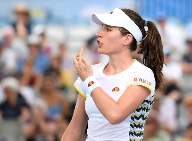 Konta had never previously been knocked out in the first round (PA Images)
