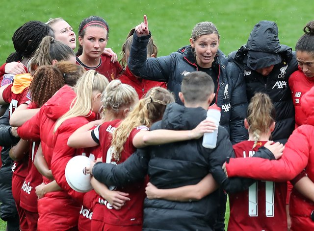 Vicky Jepson and her squad are looking forward to welcoming Fran Kitching back (PA Images)
