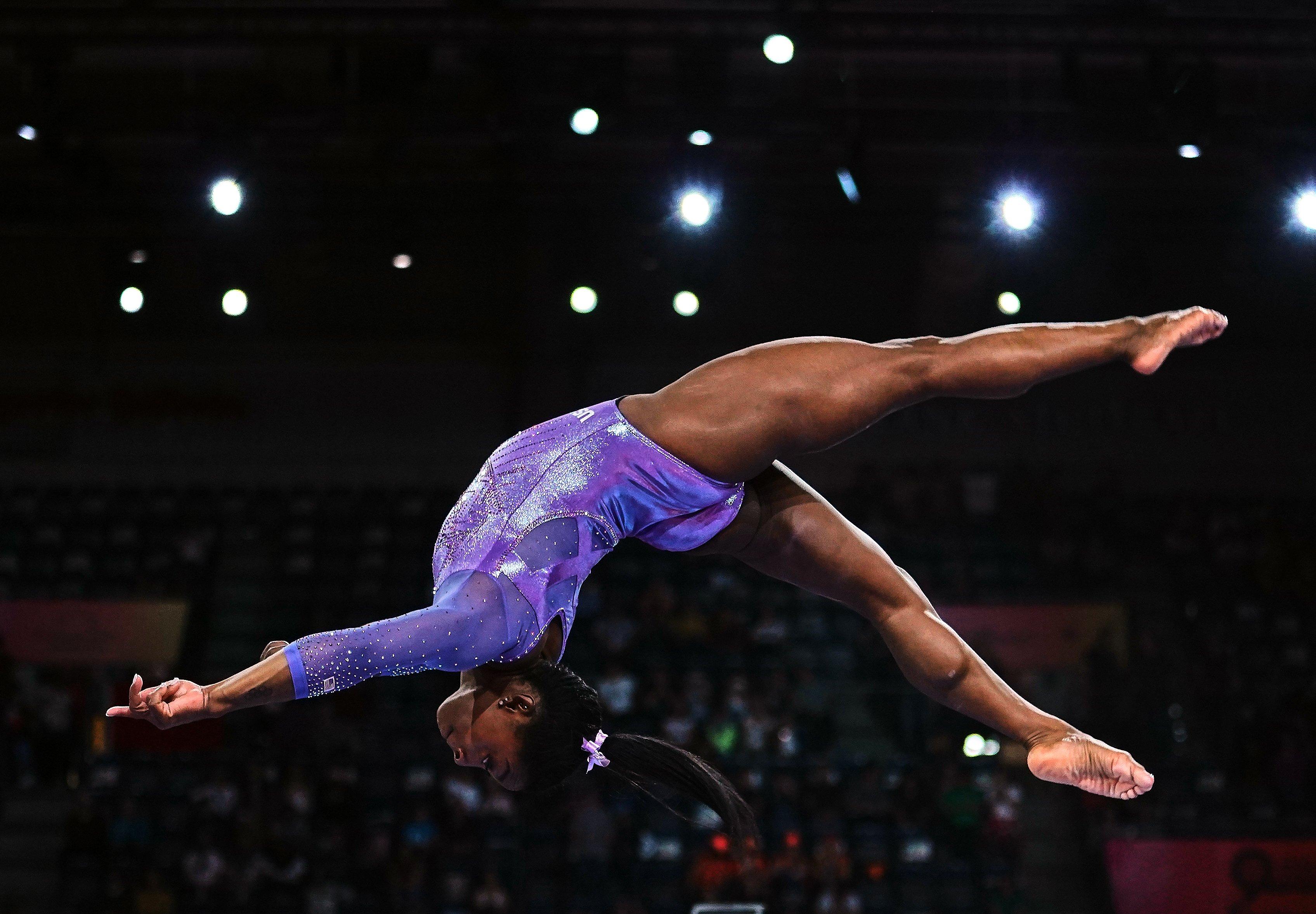 Multi-world gymnastics champion Simone Biles says she's 'ignoring' Tokyo 2020 pressure