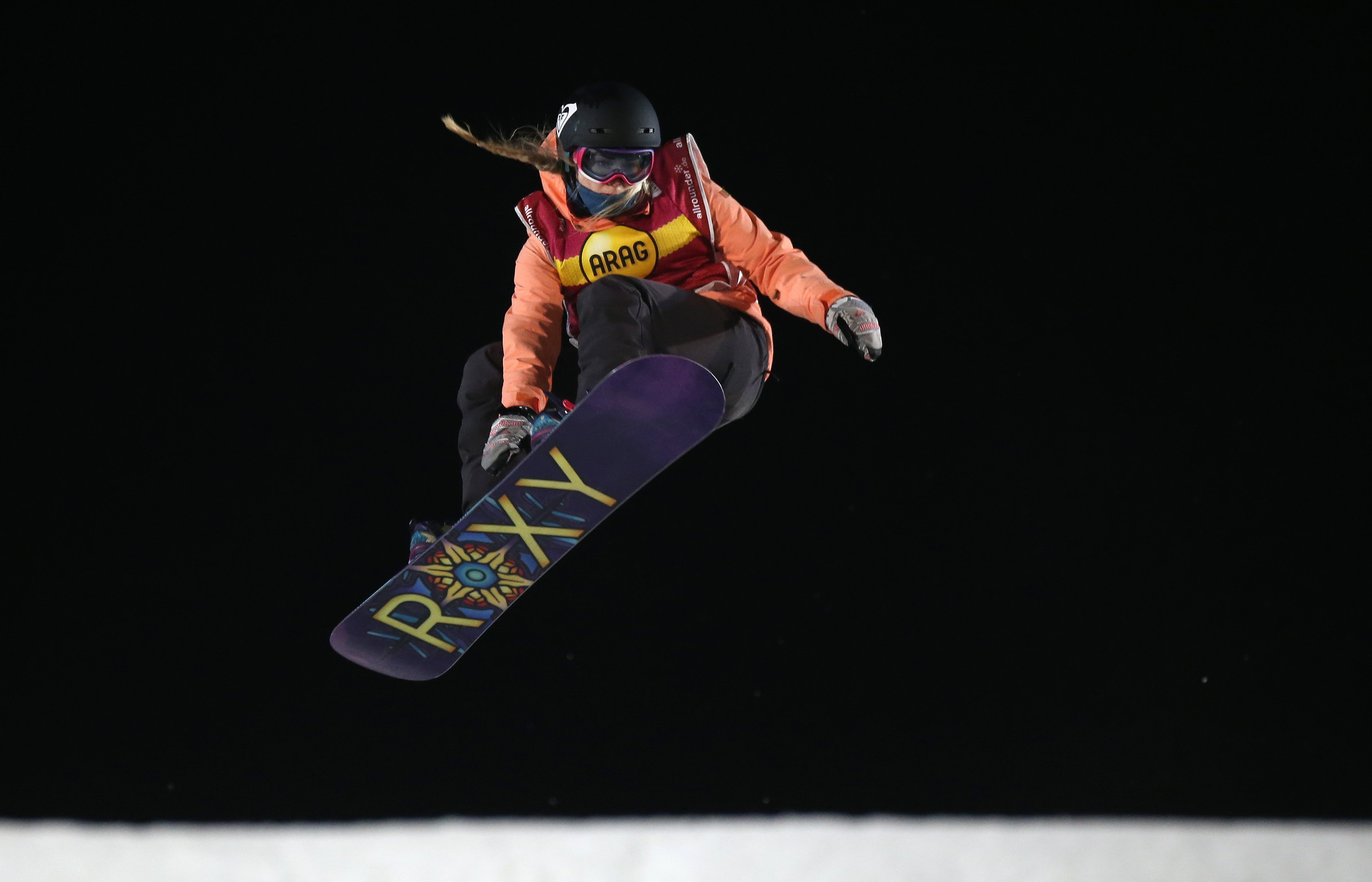 British snowboarding sensation Katie Ormerod claims another World Cup podium place finishing second in the slopestyle