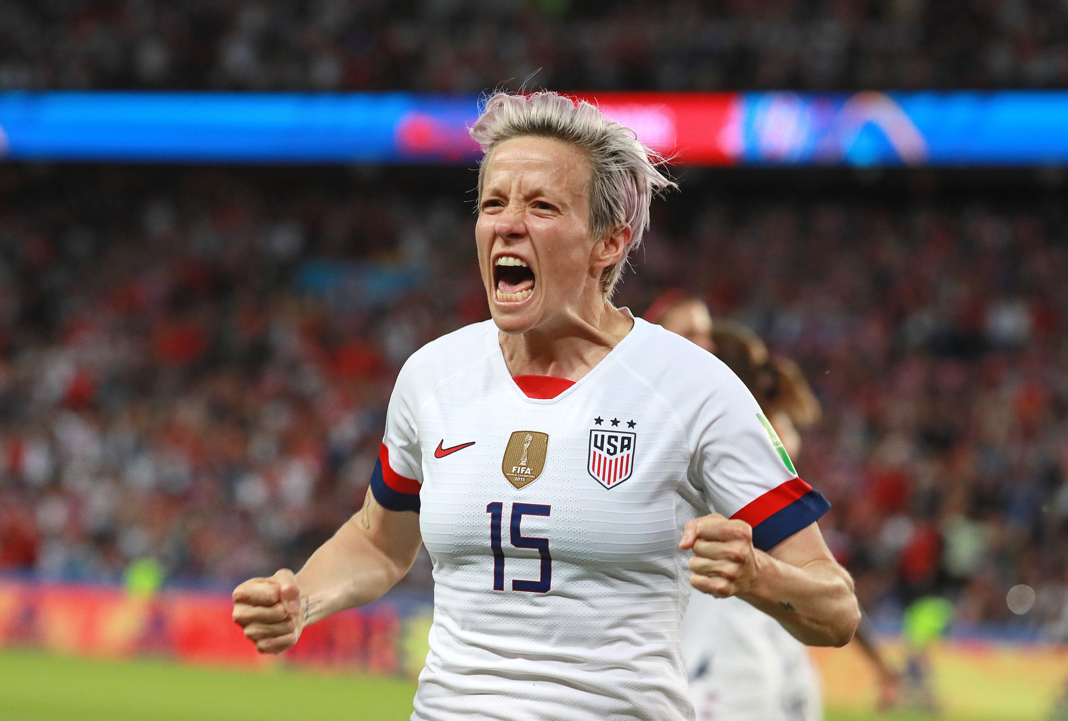 US football star Megan Rapinoe says IOC is 'scared of the wrong things' amid controversy over protest ban at Tokyo 2020