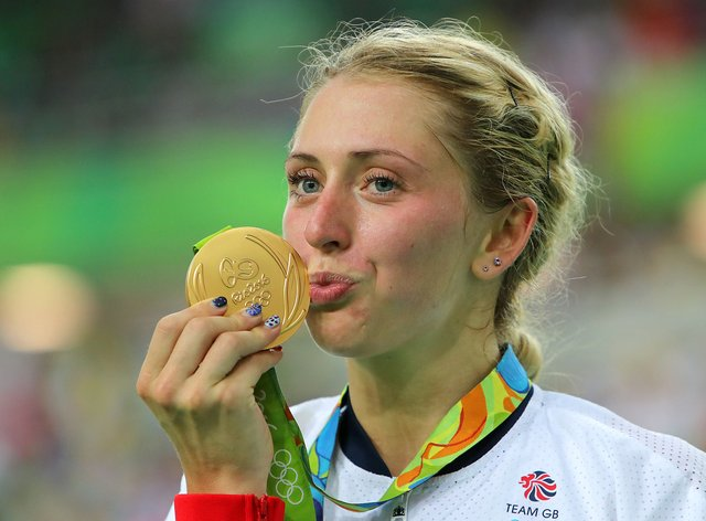 Laura Kenny (nee Trott) was among Team GB's cycling gold medallists in Rio (PA Images)
