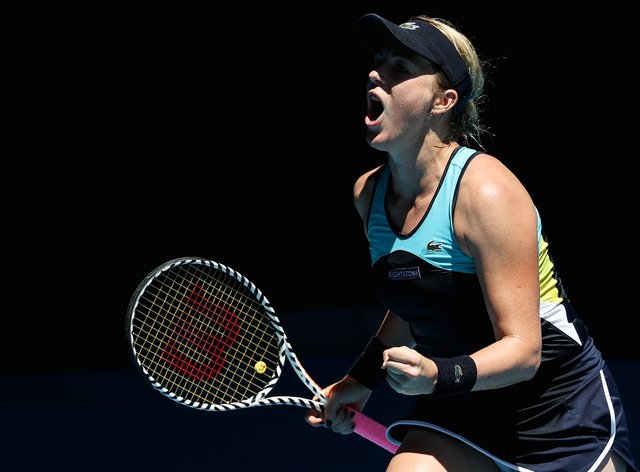 Anastasia Pavlyuchenkova earns herself a spot in the fourth round (PA Images)