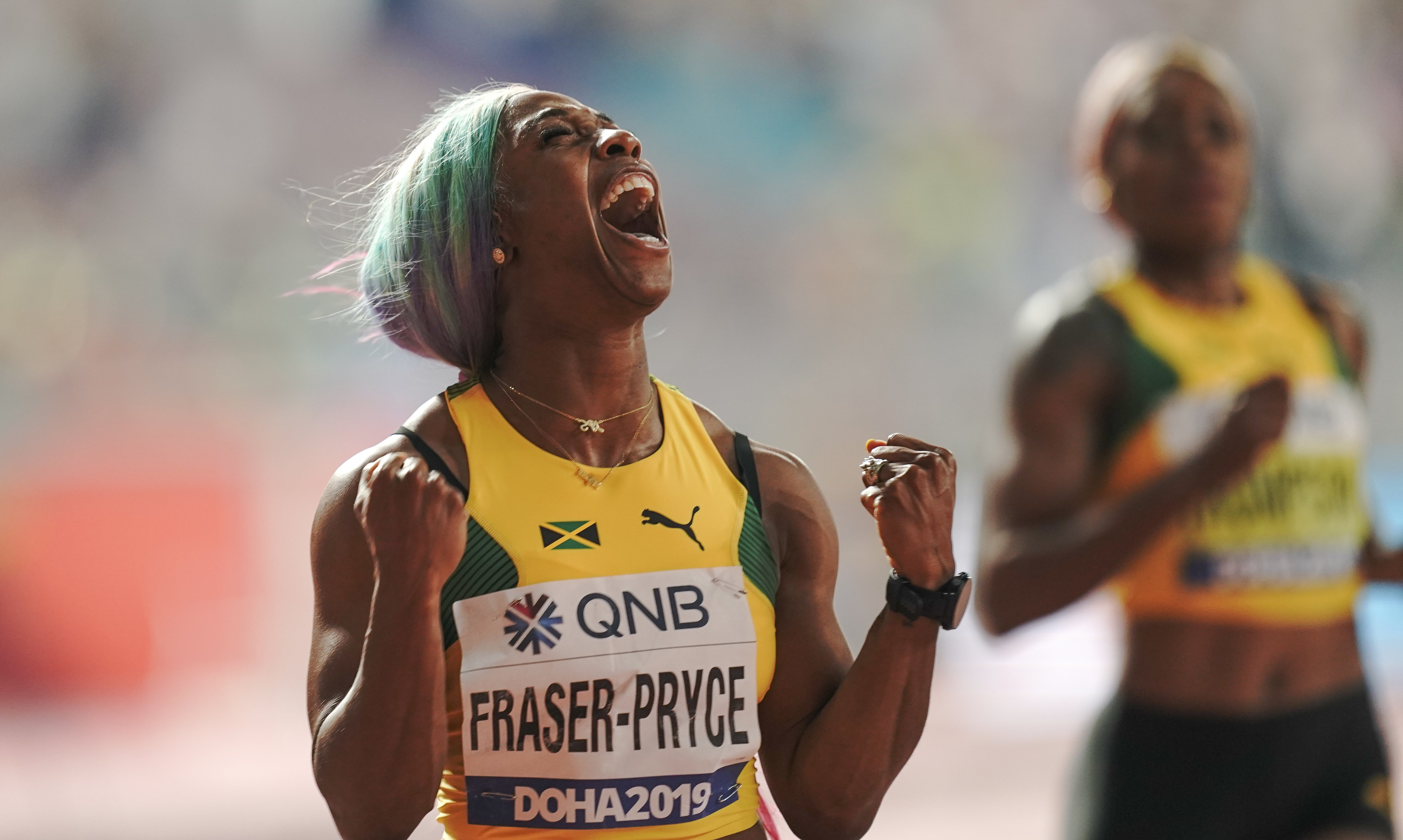 Shelly-Ann Fraser-Pryce and Murielle Ahoure set to go head-to-head at the Indoor Athletics Grand Prix